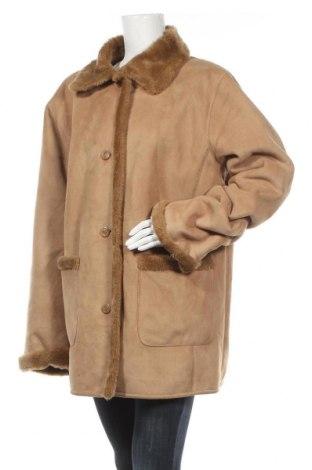 Дамско палто Fabiani, Размер XL, Цвят Кафяв, 63% полиакрил, 37% полиестер, Цена 12,60лв.