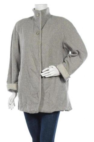 Дамско палто Fabiani, Размер L, Цвят Сив, 70% вълна, 20% полиамид, 10% кашмир, Цена 20,48лв.