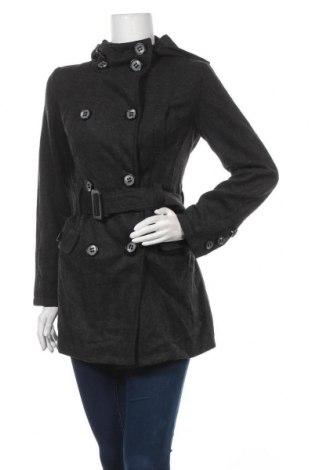 Дамско палто Forcast, Размер S, Цвят Сив, Вълна, полиестер, вискоза, Цена 16,80лв.