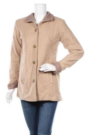 Дамско палто Gabriella Vicenza, Размер M, Цвят Бежов, Полиестер, Цена 13,91лв.