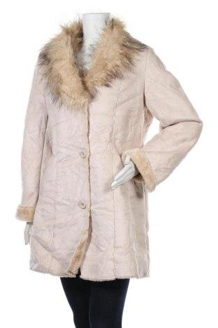 Дамско палто Gabriella Vicenza, Размер M, Цвят Бежов, Полиестер, Цена 19,11лв.