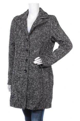Γυναικείο παλτό Geisha, Μέγεθος L, Χρώμα Μαύρο, 60% πολυεστέρας, 30% μαλλί, 10% πολυακρυλικό, Τιμή 34,55€