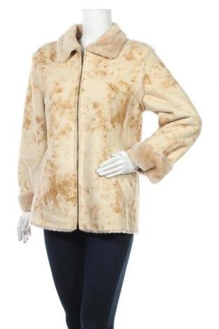 Дамско палто Gelco, Размер M, Цвят Бежов, Полиестер, Цена 10,44лв.