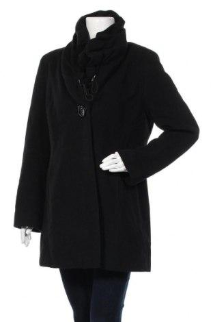 Дамско палто Gerry Weber, Размер M, Цвят Черен, 60% вълна, 20% кашмир, 20% полиамид, Цена 38,64лв.
