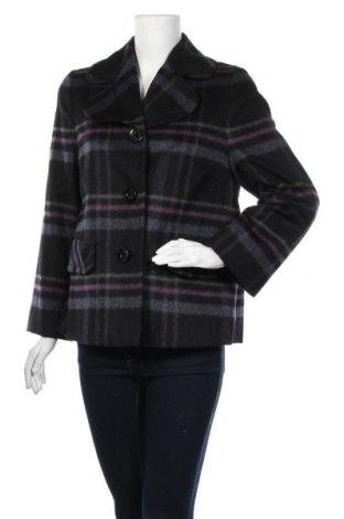 Дамско палто Gerry Weber, Размер M, Цвят Черен, 65% вълна, 20% полиестер, 10% мохер, 5% полиамид, Цена 51,04лв.