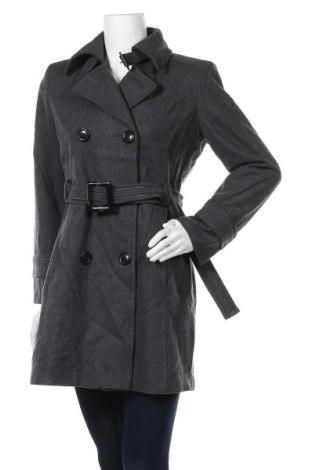 Дамско палто Giacca a Gallery Company, Размер M, Цвят Сив, 60% вълна, 20% полиестер, 15% вискоза, 5% други тъкани, Цена 77,70лв.