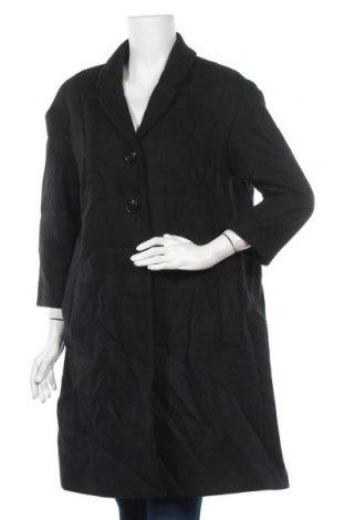 Дамско палто H&M, Размер M, Цвят Черен, Цена 15,12лв.
