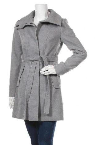 Дамско палто H&M, Размер XS, Цвят Сив, 86% полиестер, 12% вискоза, 2% еластан, Цена 50,40лв.