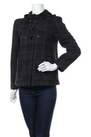 Дамско палто H&M, Размер S, Цвят Многоцветен, 51% полиестер, 42% вълна, 7% други нишки, Цена 47,25лв.