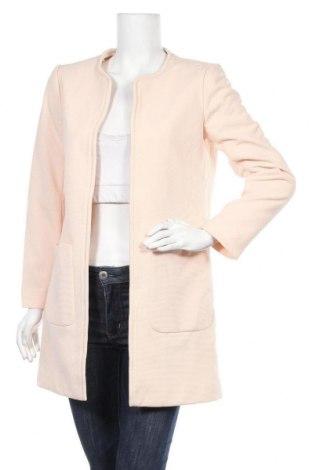 Дамско палто H&M, Размер M, Цвят Розов, 96% полиестер, 4% еластан, Цена 27,98лв.