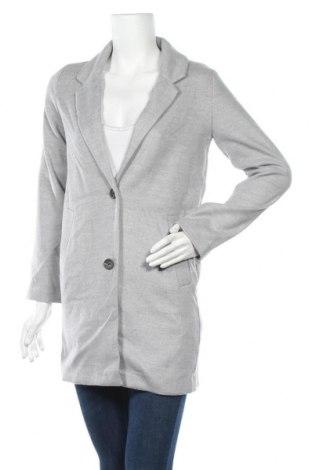 Дамско палто H&M Divided, Размер XS, Цвят Сив, 89% полиестер, 10% вискоза, 1% еластан, Цена 23,10лв.