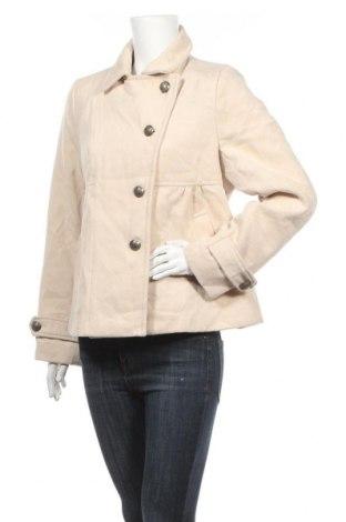 Дамско палто Hot Options, Размер XL, Цвят Бежов, Полиестер, Цена 9,75лв.