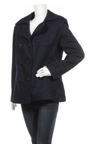 Дамско палто Hydraulic, Размер L, Цвят Син, 60% вълна, 20% вискоза, 20% полиестер, Цена 20,79лв.