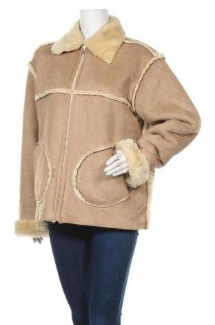 Дамско палто Jacky-O, Размер XL, Цвят Бежов, Полиестер, Цена 47,88лв.