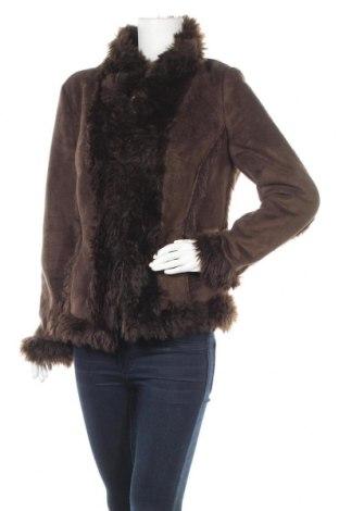 Дамско палто Jean Paul, Размер L, Цвят Кафяв, Полиестер, Цена 51,87лв.