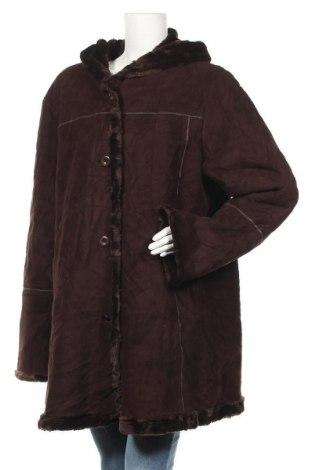 Дамско палто Jessica, Размер XL, Цвят Кафяв, Цена 46,20лв.