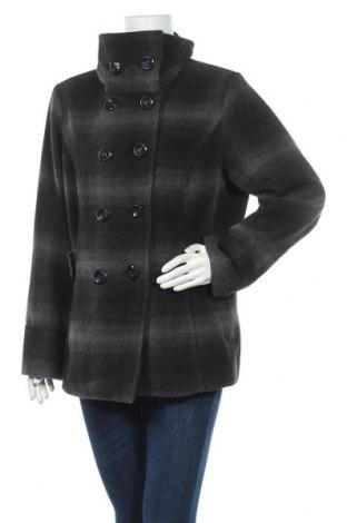 Γυναικείο παλτό Jessica, Μέγεθος XL, Χρώμα Γκρί, 70% πολυεστέρας, 30% μαλλί, Τιμή 33,77€