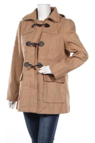 Дамско палто Jessica, Размер L, Цвят Бежов, 93% полиестер, 5% вискоза, 2% еластан, Цена 78,80лв.