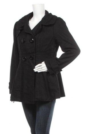 Γυναικείο παλτό Jessica, Μέγεθος M, Χρώμα Μαύρο, 60% μαλλί, 29% πολυεστέρας, 6% βισκόζη, 5% άλλα υφάσματα, Τιμή 29,62€