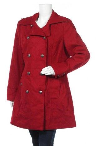 Γυναικείο παλτό Jessica, Μέγεθος XL, Χρώμα Κόκκινο, 60% μαλλί, 29% πολυεστέρας, 6% βισκόζη, 5% άλλα υλικά, Τιμή 36,37€