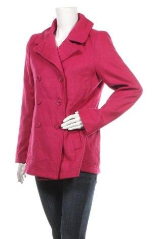 Дамско палто Jessica, Размер M, Цвят Розов, 95% полиестер, 5% вискоза, 2% еластан, Цена 51,87лв.