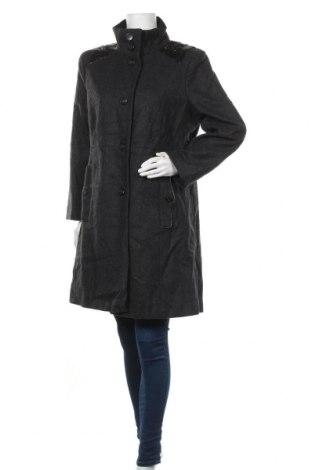 Γυναικείο παλτό Jessica, Μέγεθος XL, Χρώμα Γκρί, 60% μαλλί, 29% πολυεστέρας, 6% βισκόζη, 5% άλλα υλικά, Τιμή 38,32€