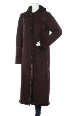 Γυναικείο παλτό Jessica, Μέγεθος M, Χρώμα Καφέ, Πολυεστέρας, Τιμή 37,41€