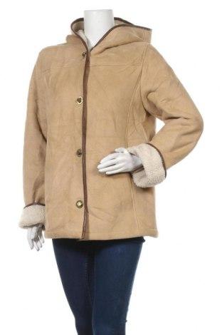 Γυναικείο παλτό Jessica, Μέγεθος S, Χρώμα  Μπέζ, 88% πολυεστέρας, 12%ακρυλικό, Τιμή 34,23€