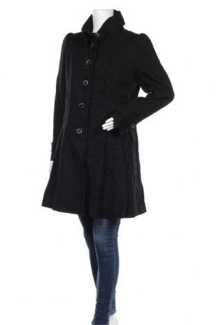 Γυναικείο παλτό Jessica Simpson, Μέγεθος XL, Χρώμα Μαύρο, 63% μαλλί, 30% πολυεστέρας, 3% πολυαμίδη, 2%ακρυλικό, 2% βισκόζη, Τιμή 50,60€