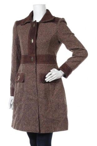 Γυναικείο παλτό Jessica Simpson, Μέγεθος M, Χρώμα Καφέ, 46% πολυεστέρας, 44% μαλλί, 7%ακρυλικό, 3% άλλα υλικά, Τιμή 33,95€
