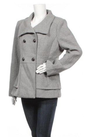 Γυναικείο παλτό Jessica Simpson, Μέγεθος XL, Χρώμα Γκρί, 51%ακρυλικό, 39% πολυεστέρας, 8% μαλλί, 2% άλλα υφάσματα, Τιμή 34,95€