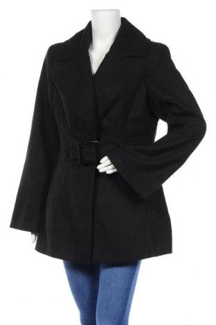 Γυναικείο παλτό Jessica Simpson, Μέγεθος XL, Χρώμα Μαύρο, 70% πολυεστέρας, 28% βισκόζη, 2% ελαστάνη, Τιμή 39,62€