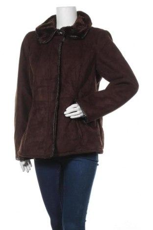 Γυναικείο παλτό Jessica Simpson, Μέγεθος XL, Χρώμα Καφέ, Πολυεστέρας, Τιμή 46,27€