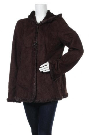 Дамско палто Jones New York, Размер L, Цвят Кафяв, Полиестер, Цена 20,48лв.