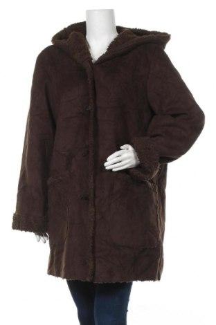 Дамско палто Jones New York, Размер XL, Цвят Кафяв, Полиестер, Цена 25,73лв.