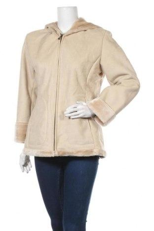 Дамско палто Jones New York, Размер M, Цвят Бежов, Полиестер, Цена 24,94лв.