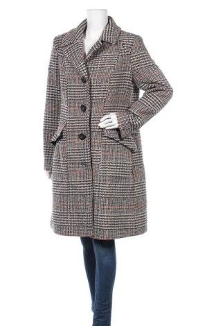 Γυναικείο παλτό KappAhl, Μέγεθος L, Χρώμα Πολύχρωμο, 45% μαλλί, 30%ακρυλικό, 15% πολυεστέρας, 10% άλλα υφάσματα, Τιμή 40,27€