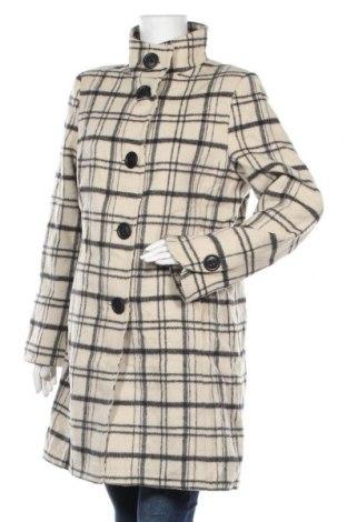 Γυναικείο παλτό KappAhl, Μέγεθος L, Χρώμα  Μπέζ, 40% μαλλί, 20% μοχαίρ, 25% πολυεστέρας, 15% πολυαμίδη, Τιμή 44,58€