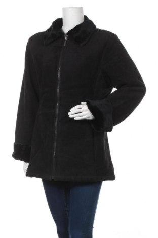 Γυναικείο παλτό KappAhl, Μέγεθος L, Χρώμα Μαύρο, Πολυεστέρας, Τιμή 20,39€