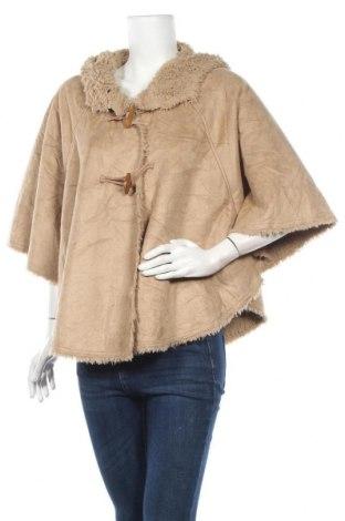 Дамско палто Keren Hart, Размер S, Цвят Кафяв, Полиестер, Цена 12,60лв.