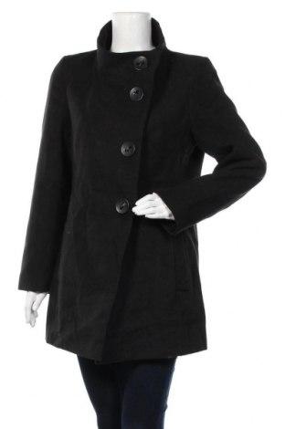 Дамско палто Kesta, Размер M, Цвят Черен, 88% полиестер, 10% вискоза, 2% еластан, Цена 16,91лв.