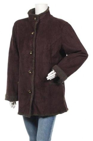 Дамско палто L.L. Bean, Размер L, Цвят Кафяв, Полиестер, Цена 15,23лв.