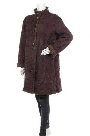Дамско палто L.L. Bean, Размер XL, Цвят Кафяв, Полиестер, Цена 17,85лв.