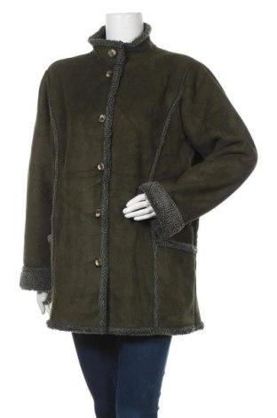 Дамско палто L.L. Bean, Размер L, Цвят Зелен, Полиестер, Цена 11,03лв.