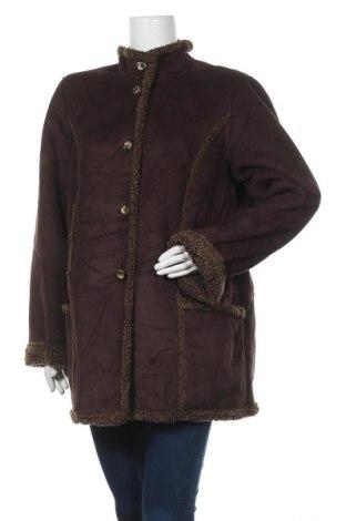 Дамско палто L.L. Bean, Размер XL, Цвят Кафяв, Полиестер, Цена 16,28лв.