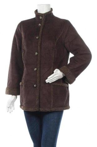 Дамско палто L.L. Bean, Размер S, Цвят Кафяв, Полиестер, Цена 13,65лв.