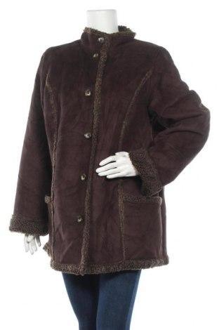 Дамско палто L.L. Bean, Размер XL, Цвят Кафяв, Полиестер, Цена 13,39лв.