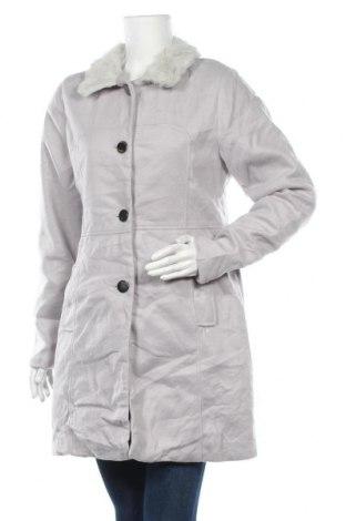 Дамско палто La Maison Du Jersey, Размер M, Цвят Сив, Полиестер, Цена 18,48лв.
