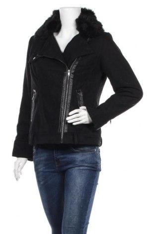 Дамско палто La Redoute, Размер M, Цвят Черен, 61% вълна, 27% полиестер, 7% други тъкани, 5% акрил, Цена 53,55лв.