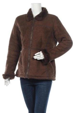 Дамско палто Lady Hathaway, Размер M, Цвят Кафяв, Полиестер, Цена 20,58лв.
